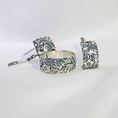 Ювелирные изделия из серебра (комплекты)