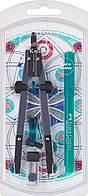 Циркуль Faber-Castell Quick set Compass 340 мм с универсальным адаптером 3,5 мм + капиллярная ручка, 174030