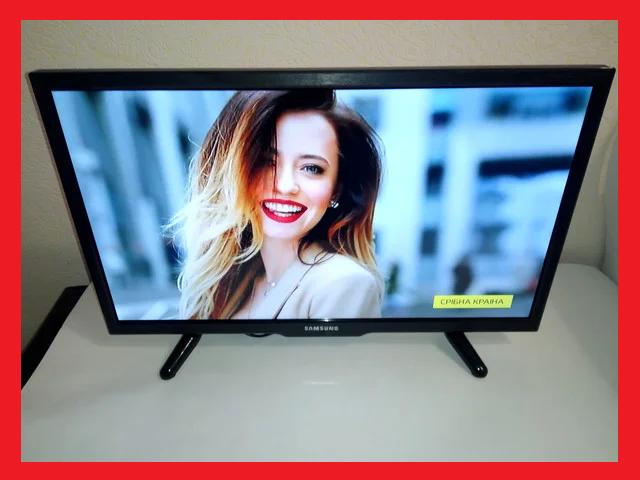 Телевизор 22 дюйма Samsung Т2 12/220 вольт телевізор ЛЕД