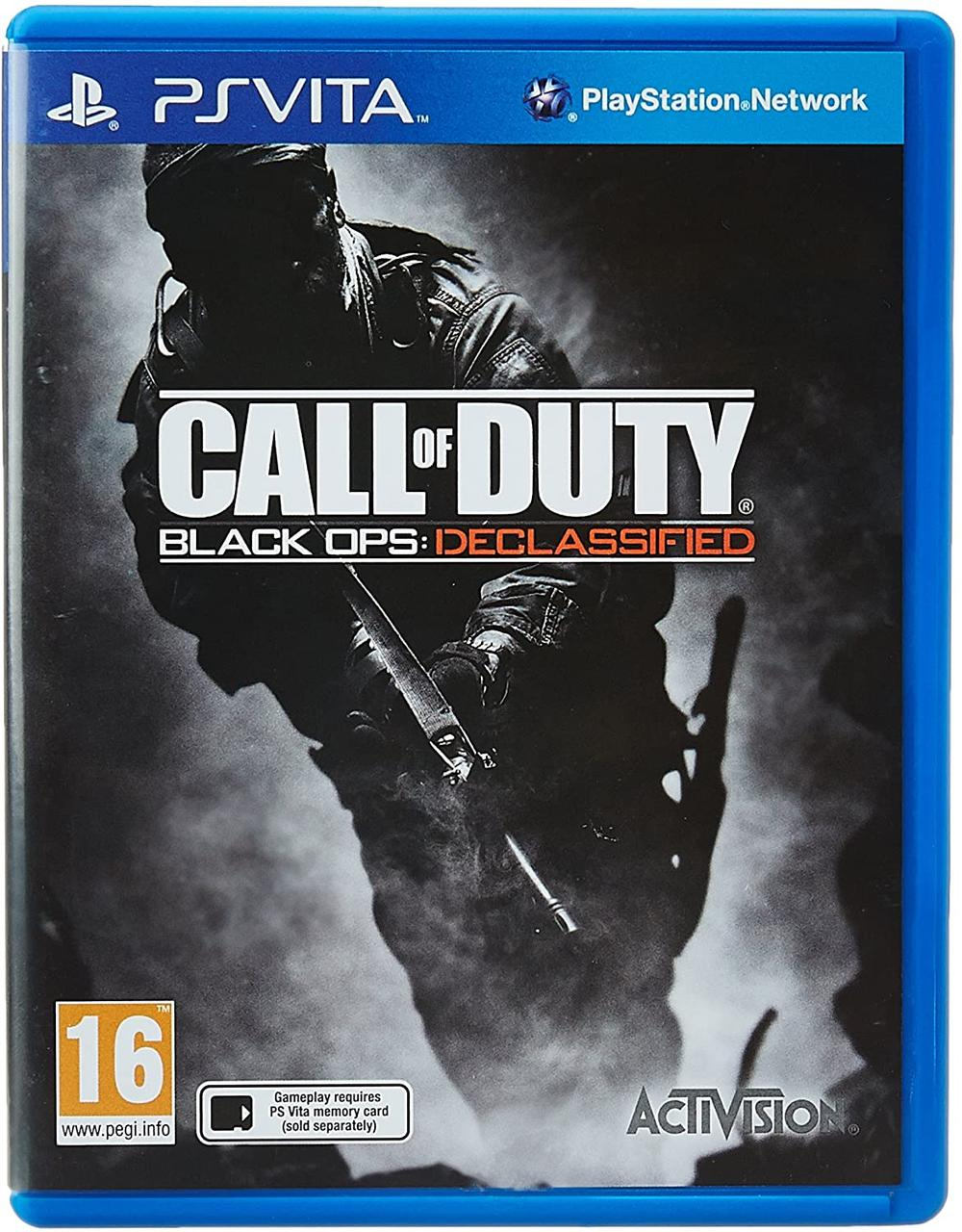 Call of Duty Black Ops Declassified (англійська версія) PS VITA