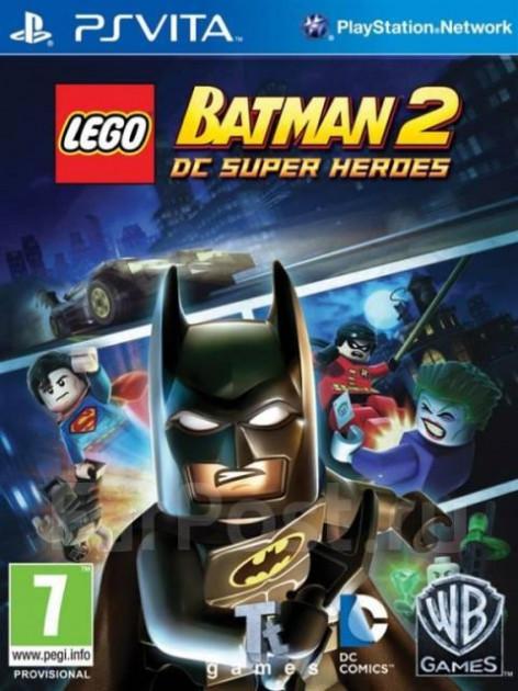 LEGO Batman 2 DC Super Heroes (з російськими субтитрами) PS VITA