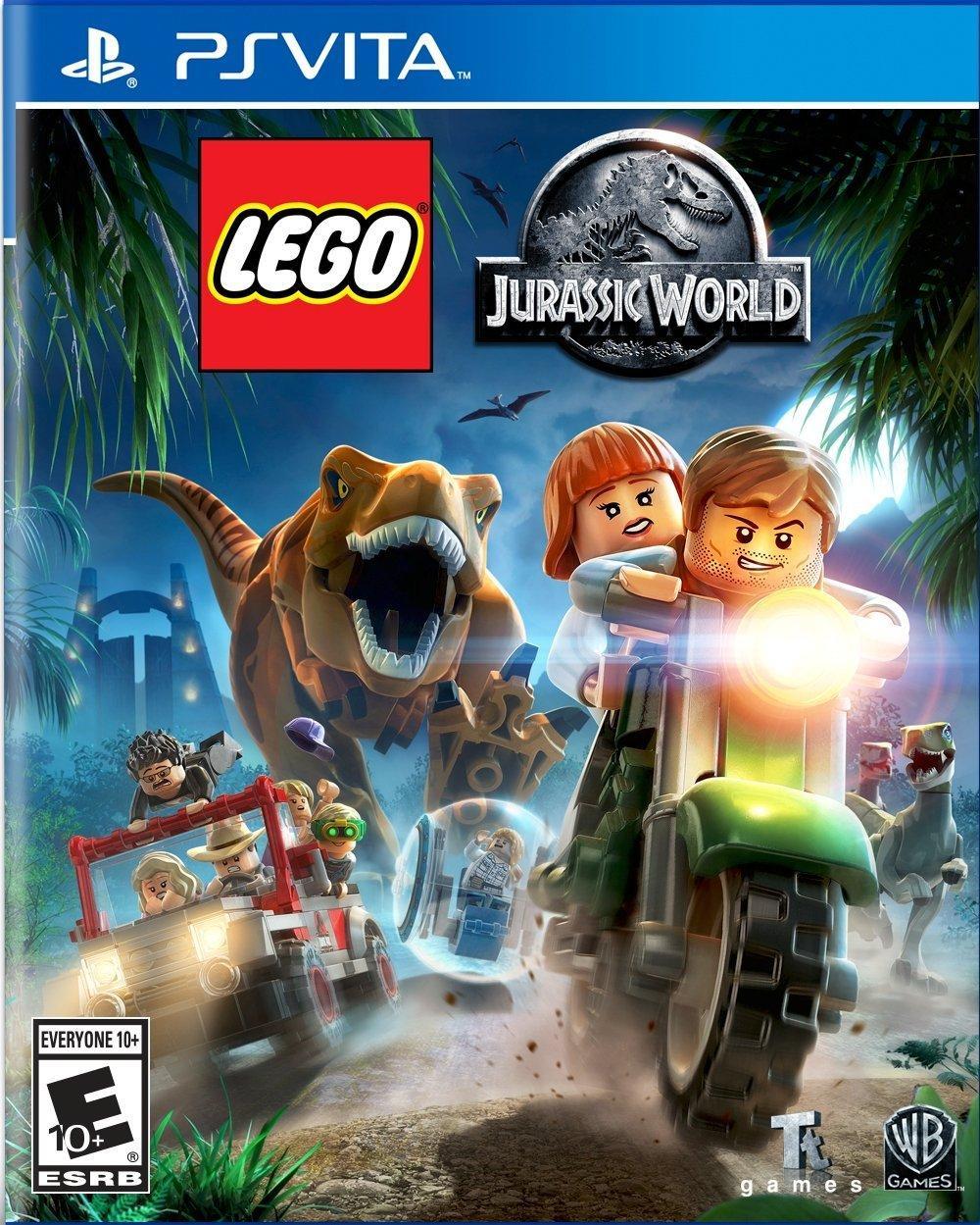 LEGO Jurassic World (з російськими субтитрами) PS VITA