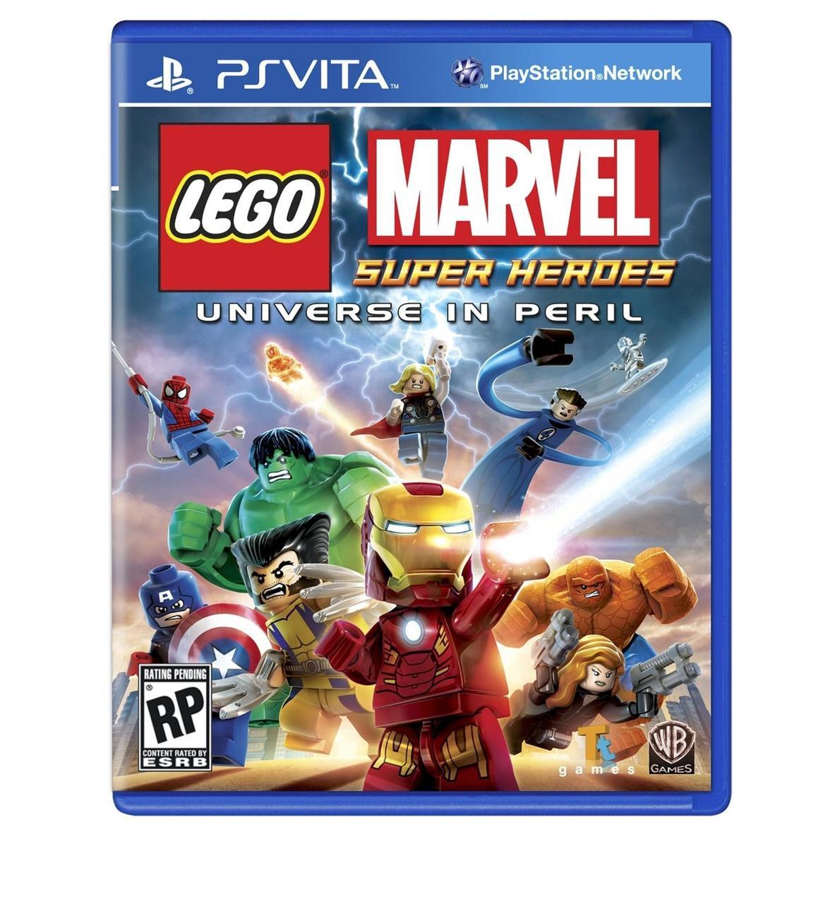 LEGO Marvel Super Heroes (англійська версія) PS VITA
