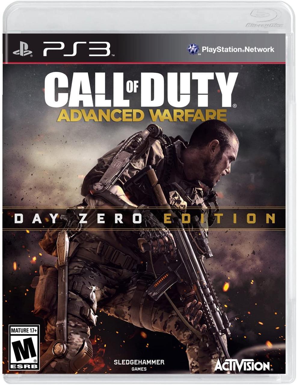 Call of Duty Advanced Warfare (англійська версія) PS3