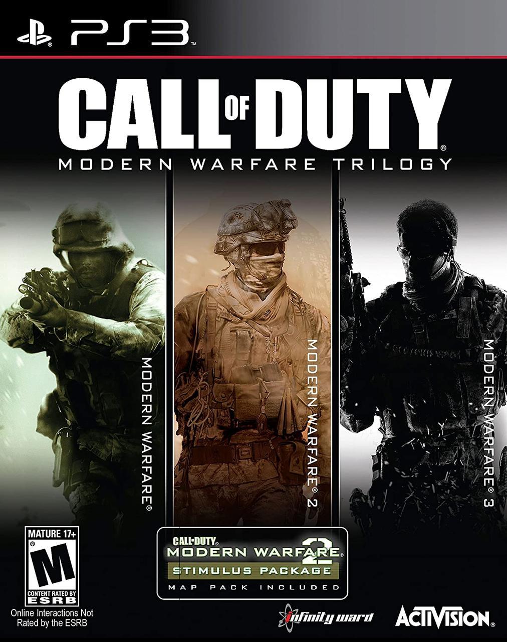 Call of Duty Modern Warfare Trilogy (англійська версія) PS3