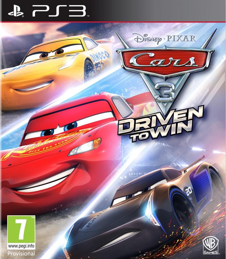 Cars 3 Driven to Win (з російськими субтитрами) PS3