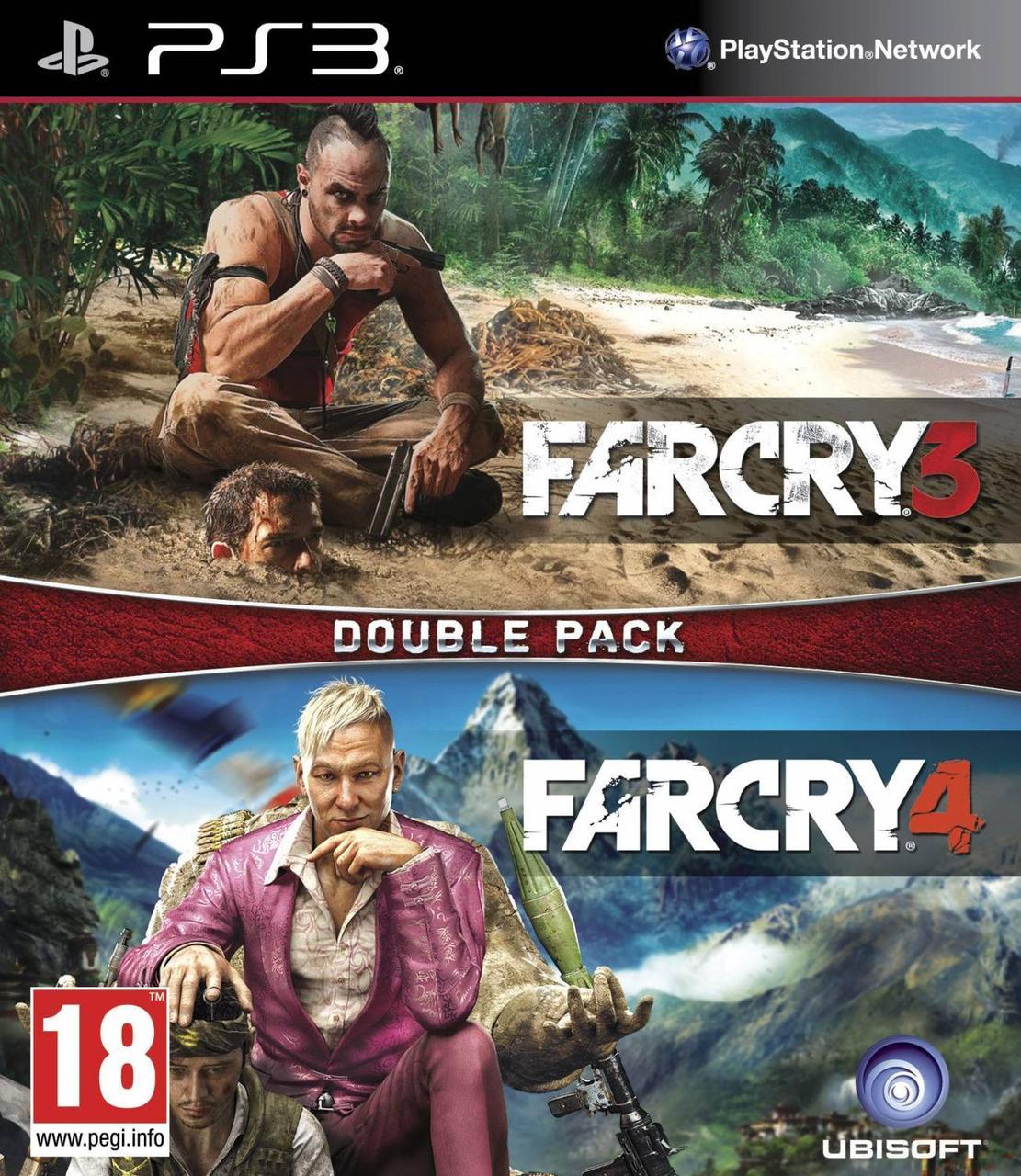 Far Cry 3 + Far Cry 4 (російська версія) PS3