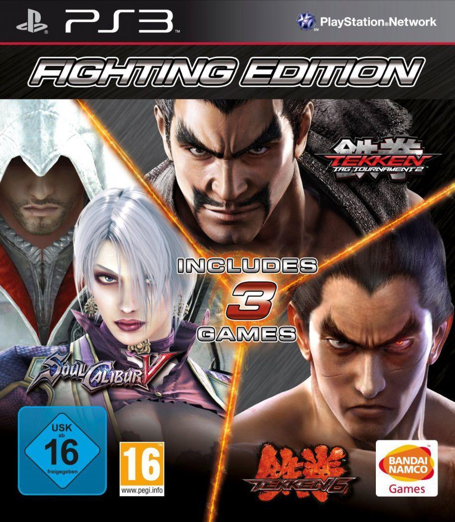 Fighting Edition (англійська версія) (Tekken 6, Tekken Tag Tournament 2 и Soulcalibur V) PS3
