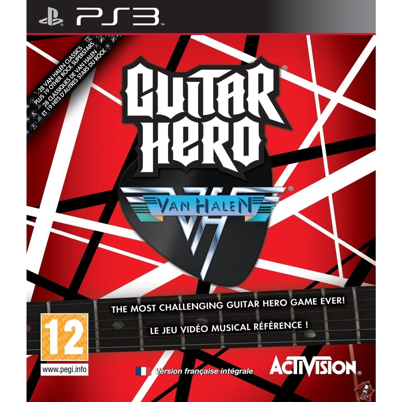 Guitar Hero Van Halen (англійська версія) PS3