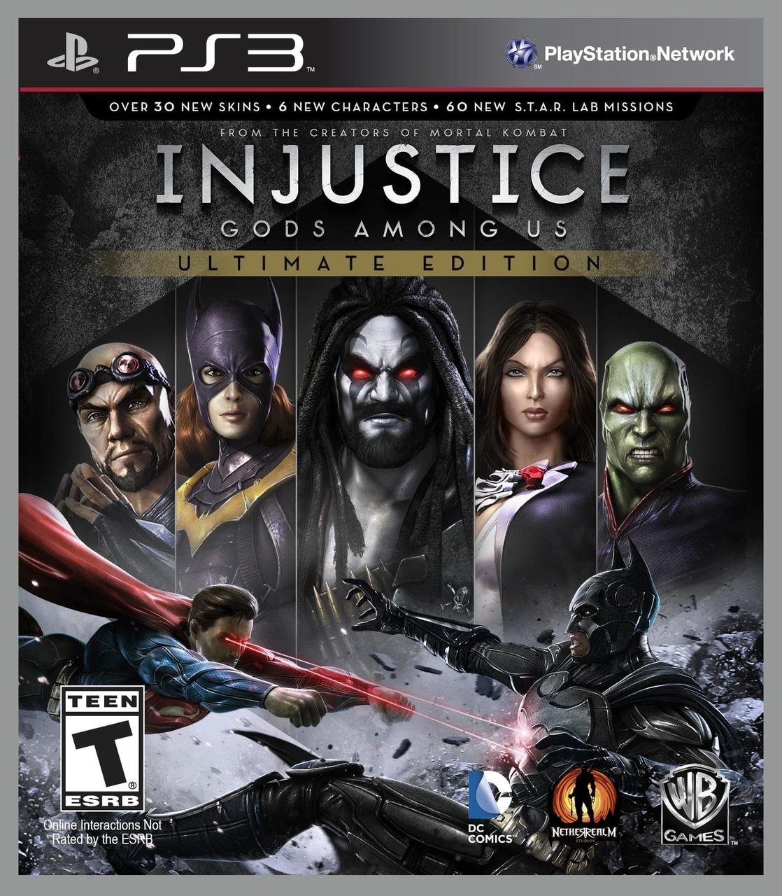 Injustice Gods Among Us Ultimate Edition (русские субтитры) PS3