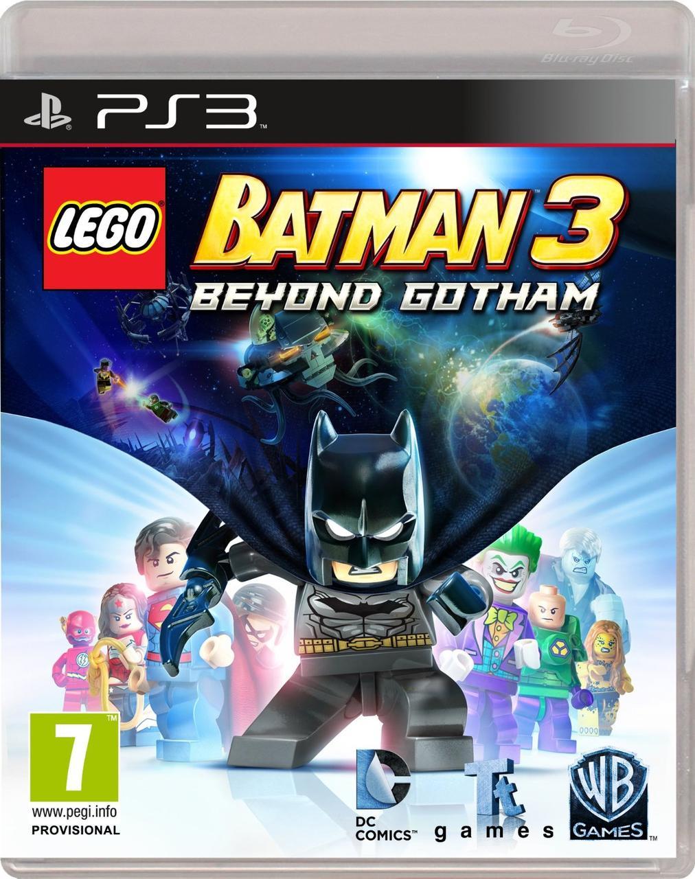 LEGO Batman 3 Beyond Gotham (з російськими субтитрами) PS3