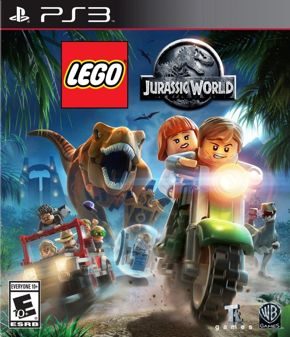 LEGO Jurassic World (з російськими субтитрами) PS3