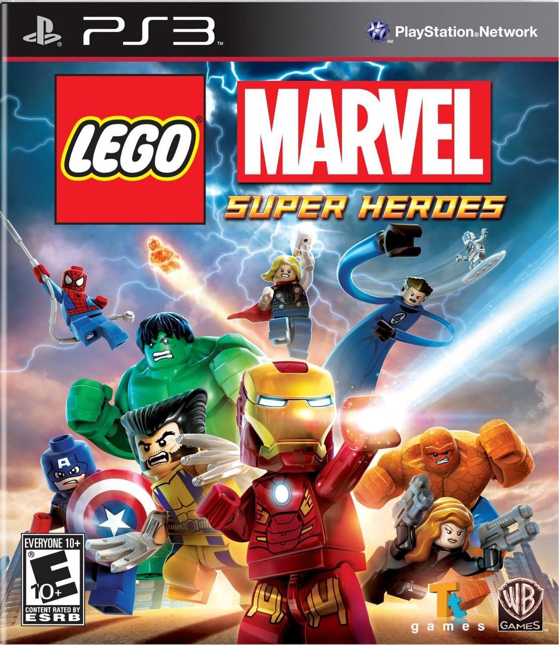 LEGO Marvel Super Heroes (з російськими субтитрами) PS3