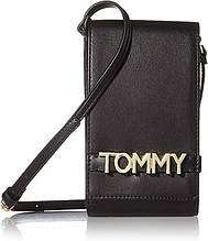 Cумка Tommy Hilfiger с логотипами art534826 (Черный, размер маленький)