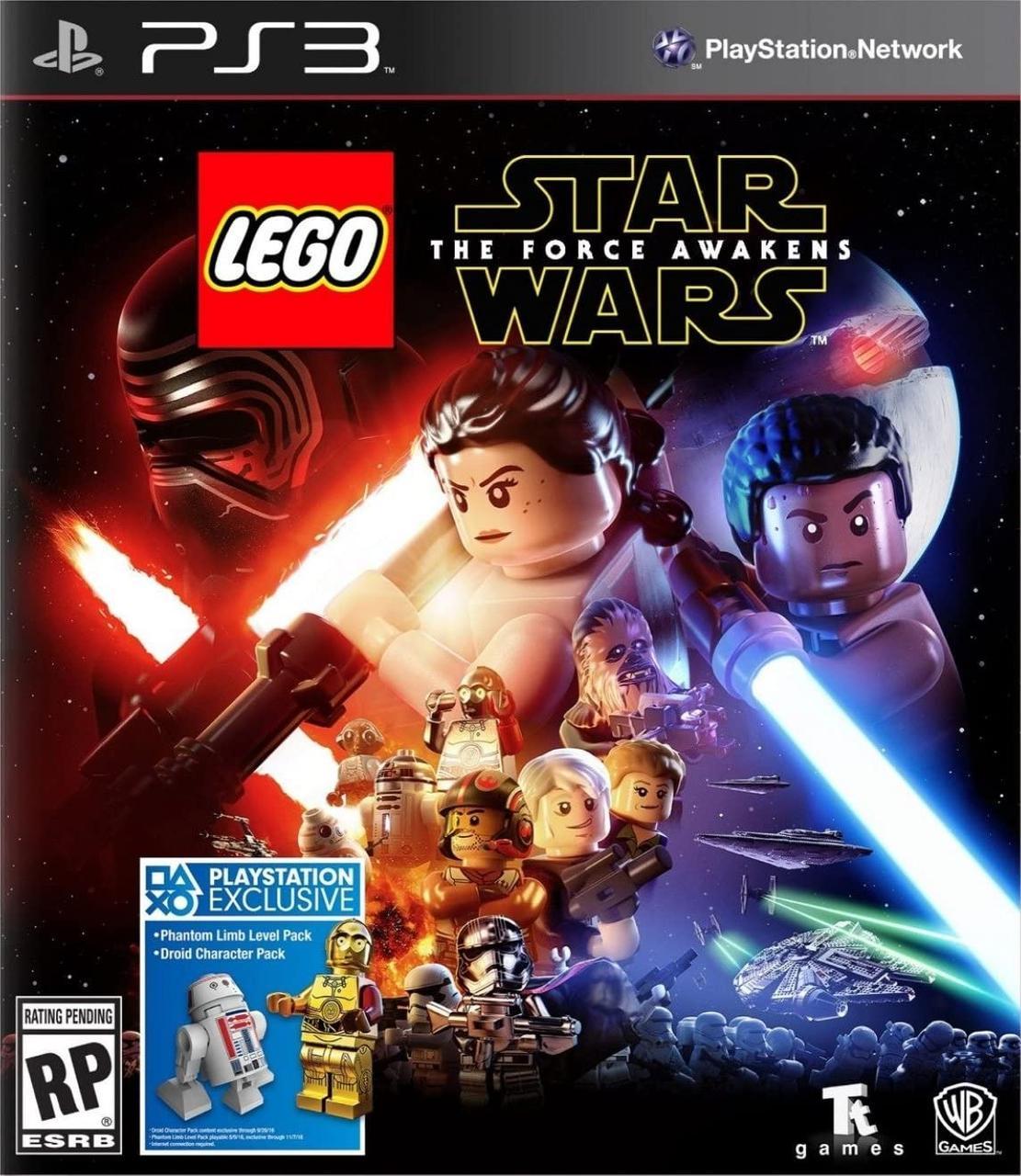 LEGO Star Wars The Force Awakens (з російськими субтитрами) PS3