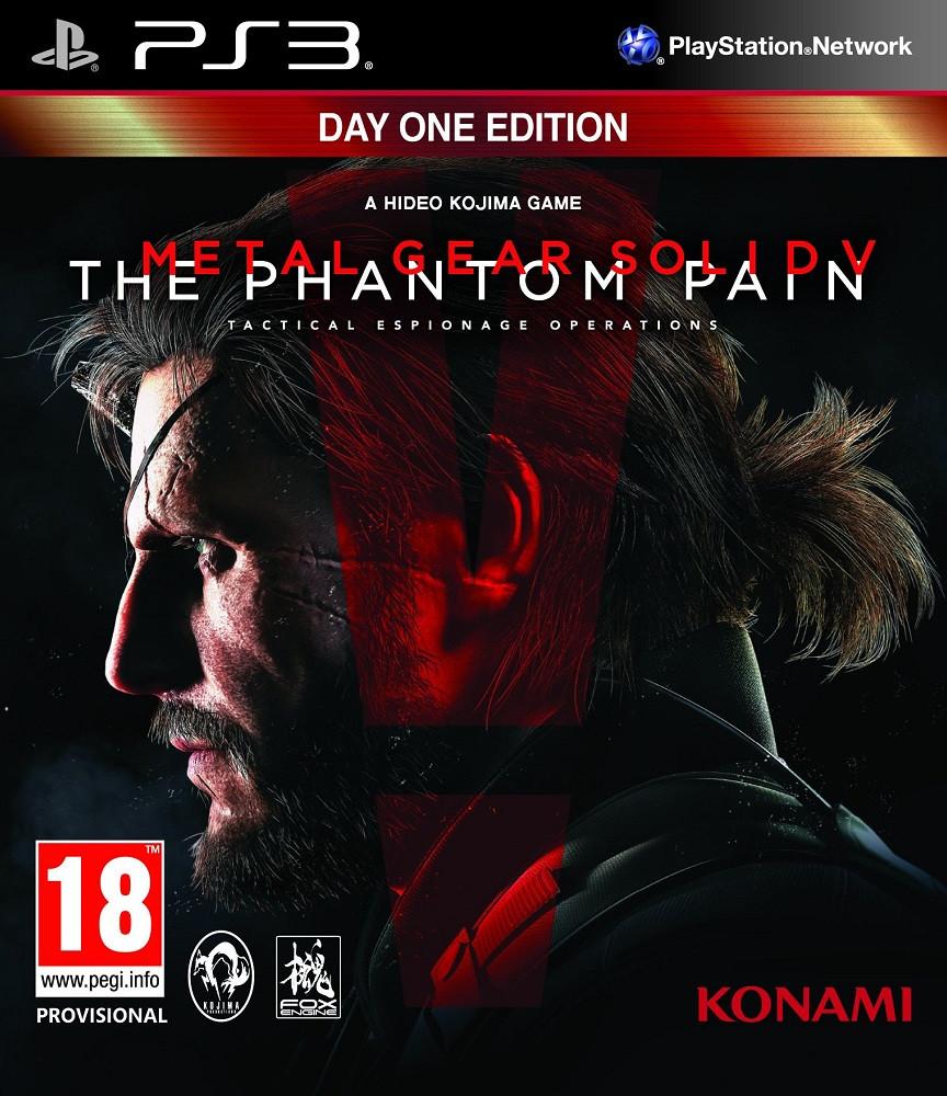 Metal Gear Solid V The Phantom Pain Day 1 Edition (з російськими субтитрами) PS3