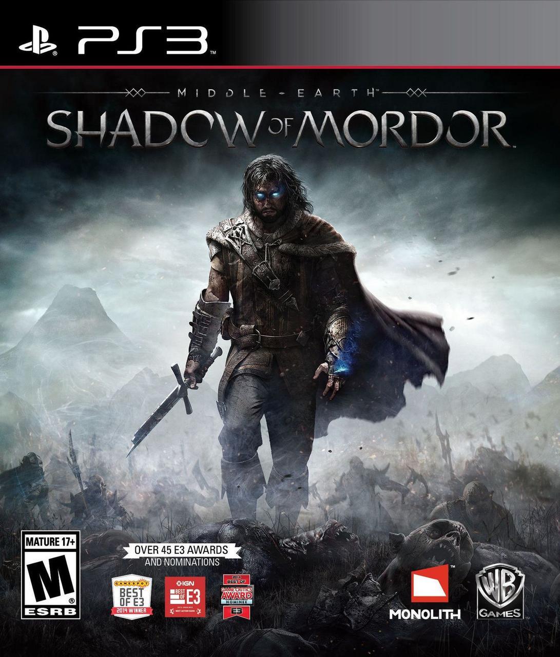 Middle-earth Shadow of Mordor (з російськими субтитрами) PS3