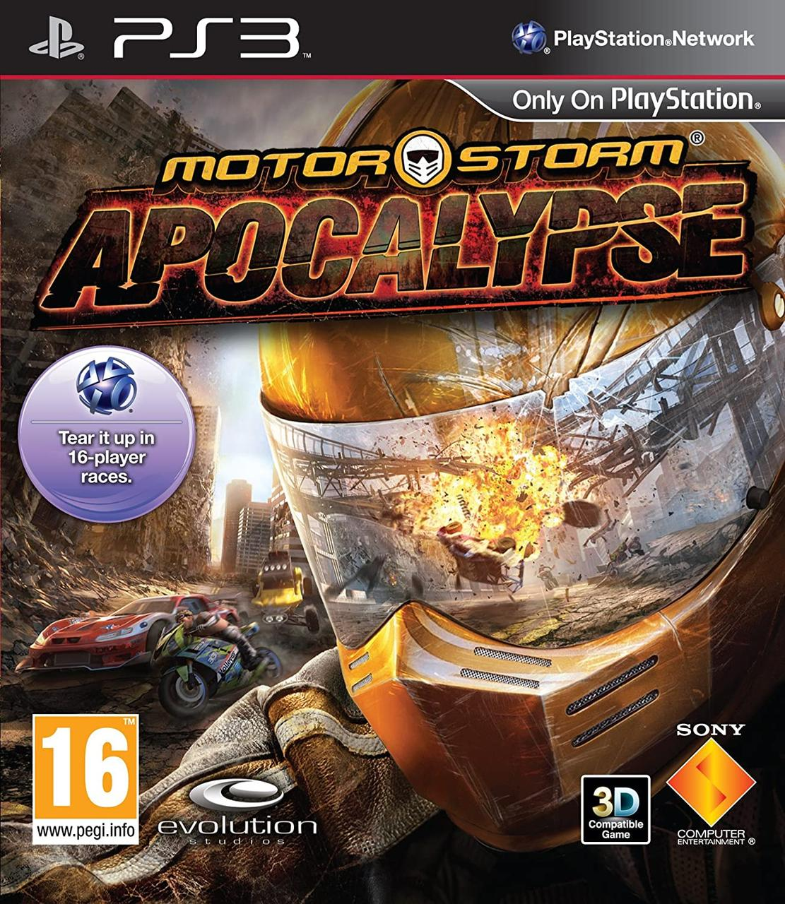 Motorstorm Apocalypse (англійська версія) PS3