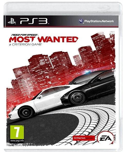 Need For Speed Most Wanted (2012) (английская версия) PS3