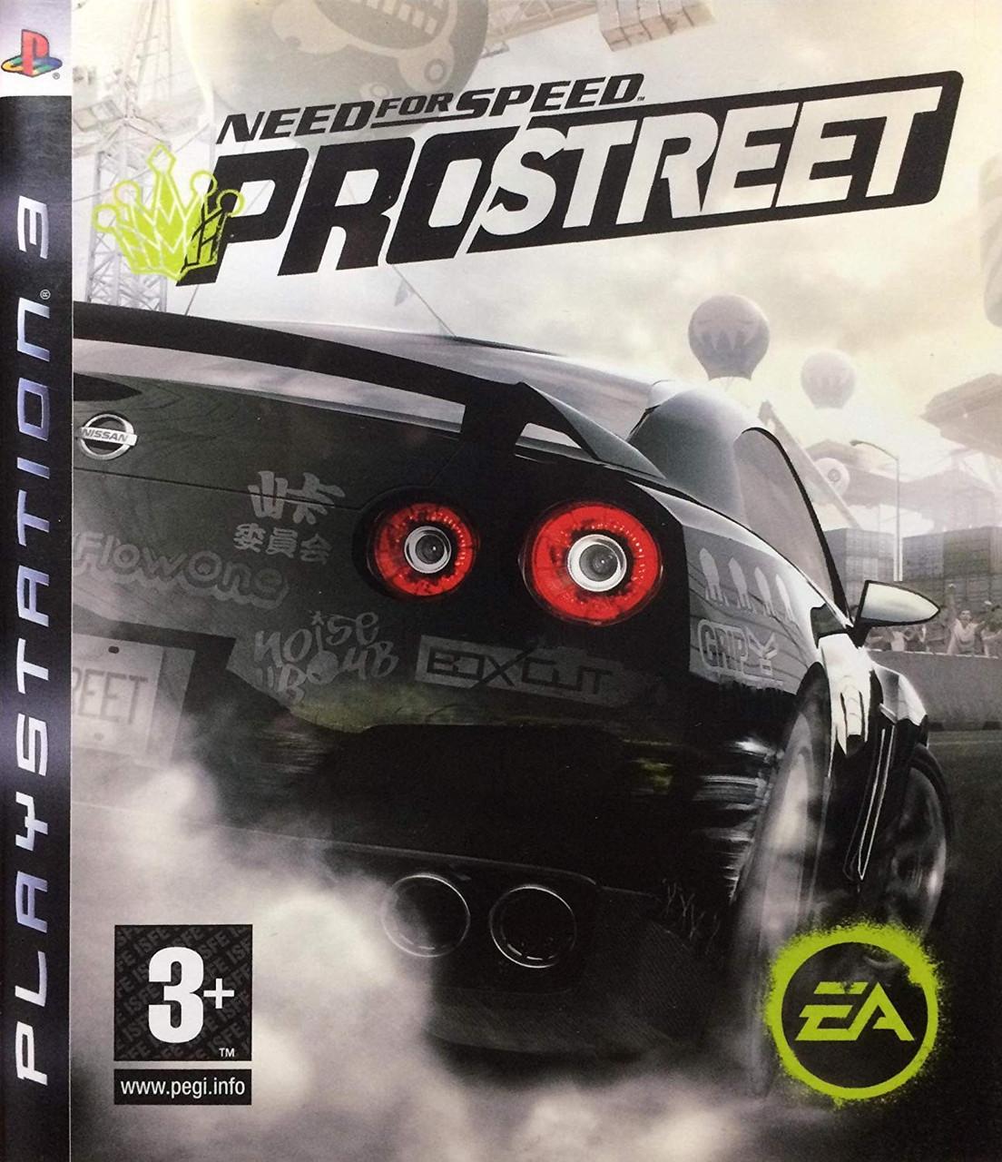 Need for Speed Prostreet (англійська версія) PS3