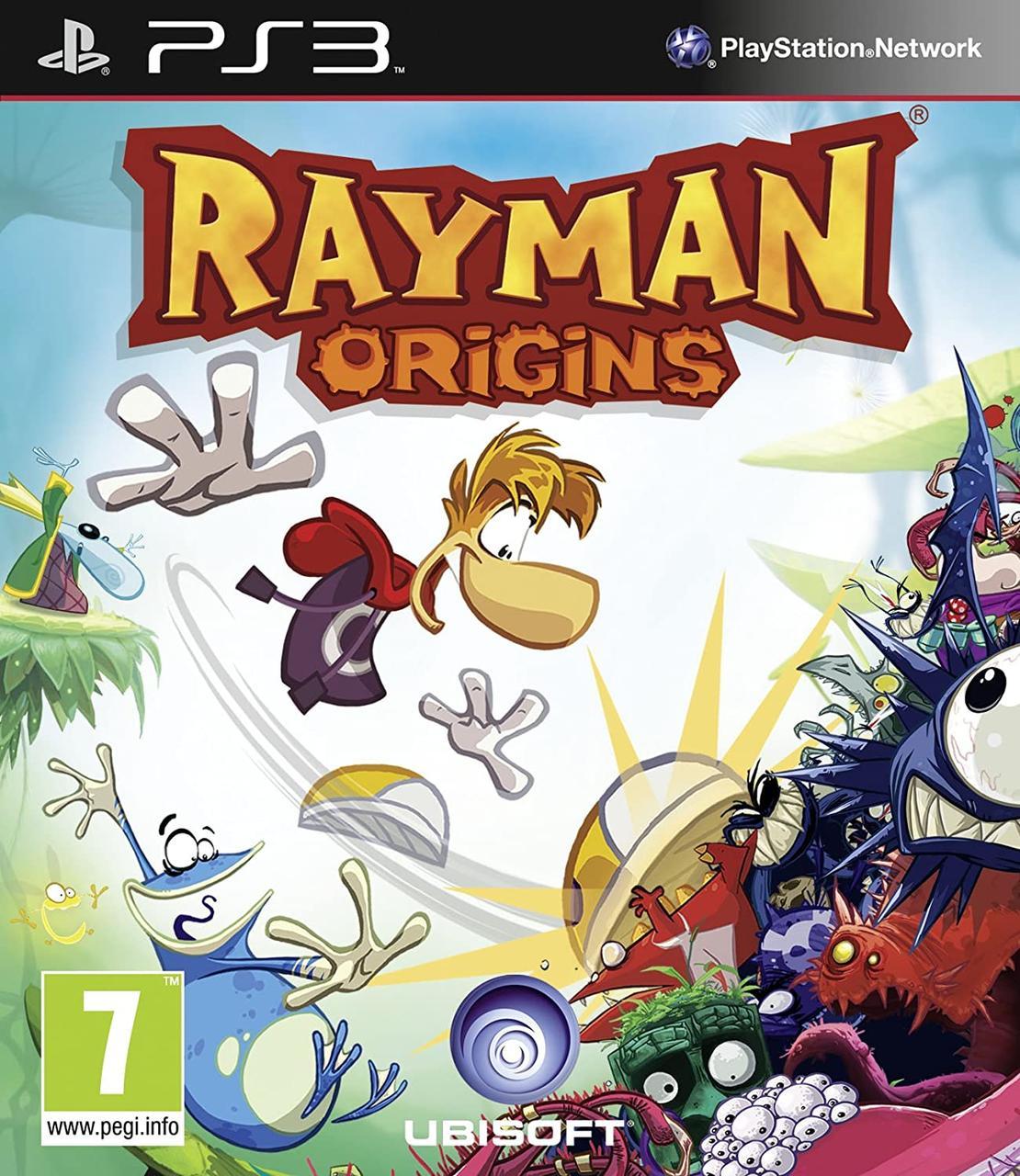 Rayman Origins (английская версия) PS3