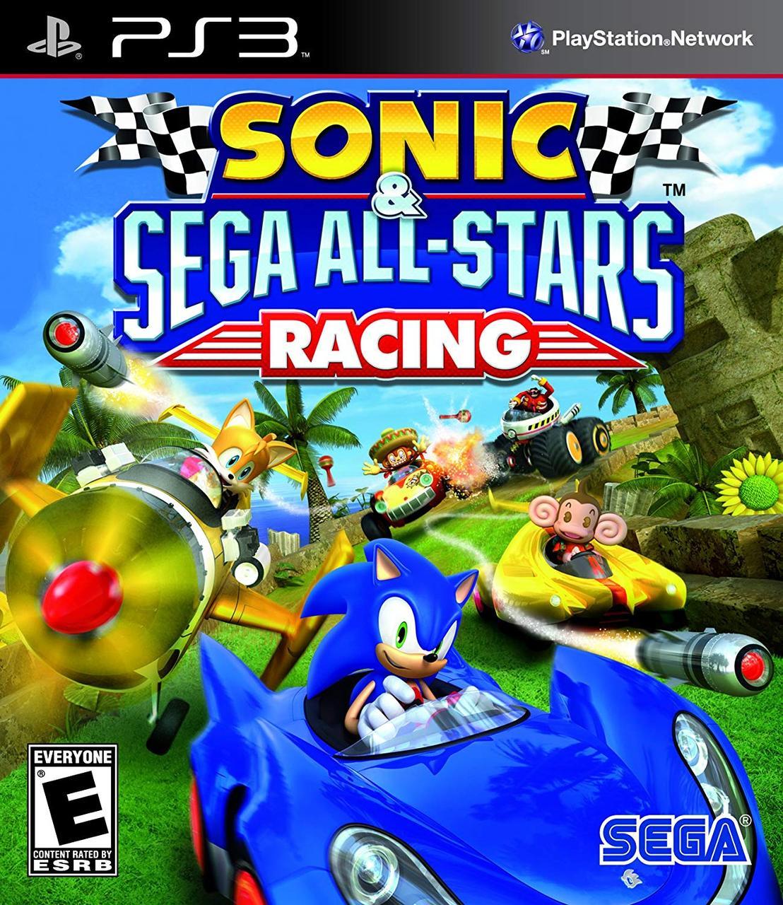 Sonic & SEGA All-Stars Racing (англійська версія) PS3