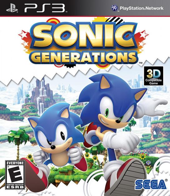 Sonic Generations (англійська версія) PS3