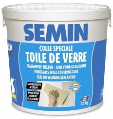 Клей для стеклохолста SEMIN COLLE TDV (Семин), влагостойкий. Франция 20 кг.