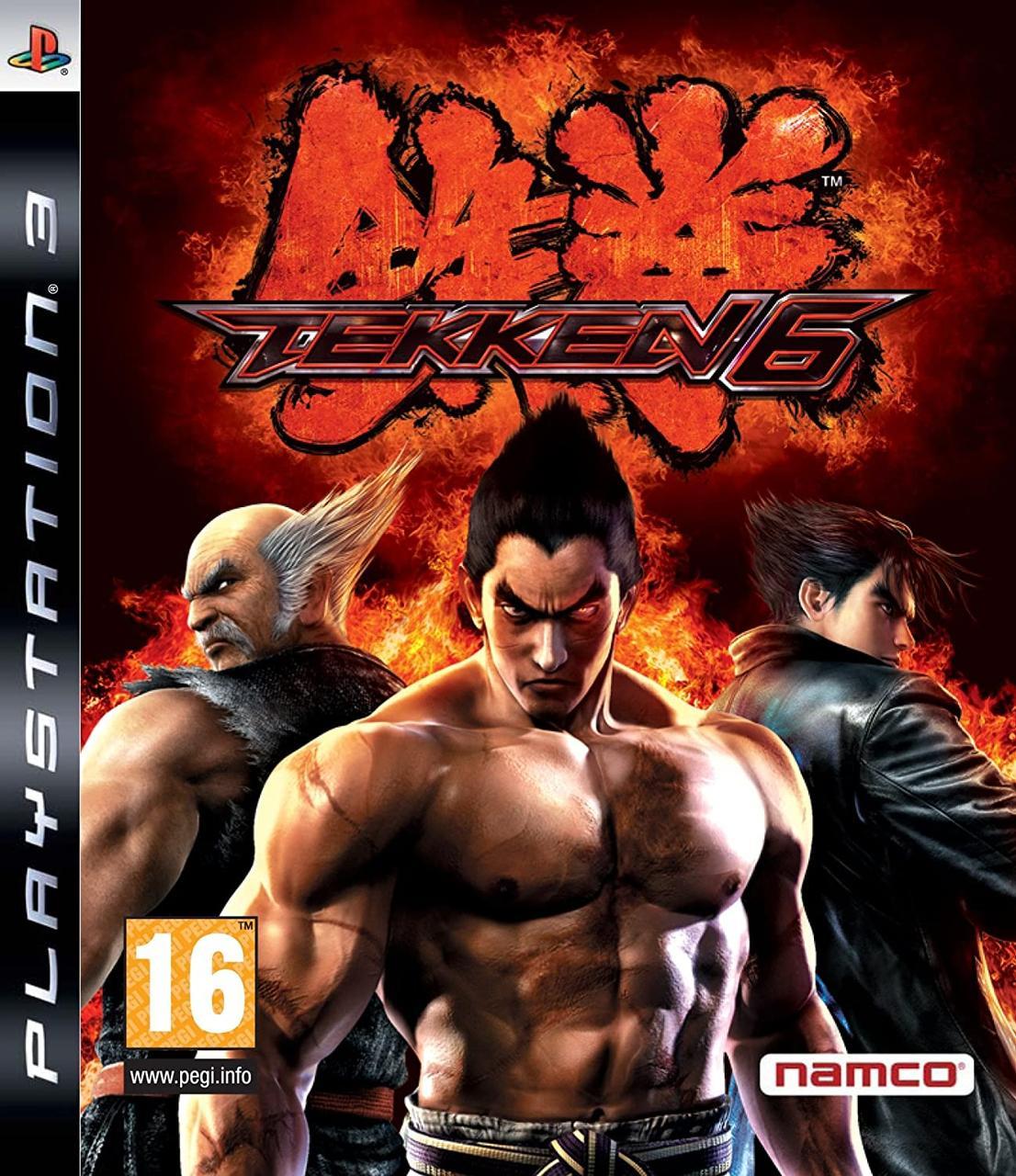 Tekken 6 (з російськими субтитрами) PS3