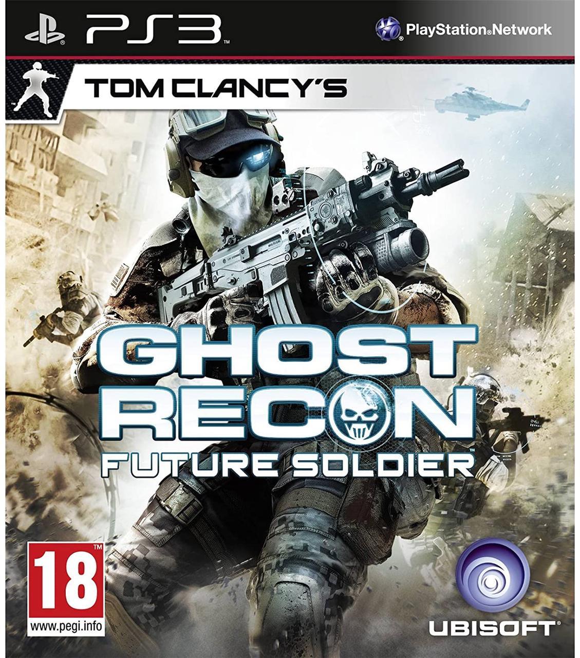 Tom Clancys Ghost Recon Future Soldier (англійська версія) PS3