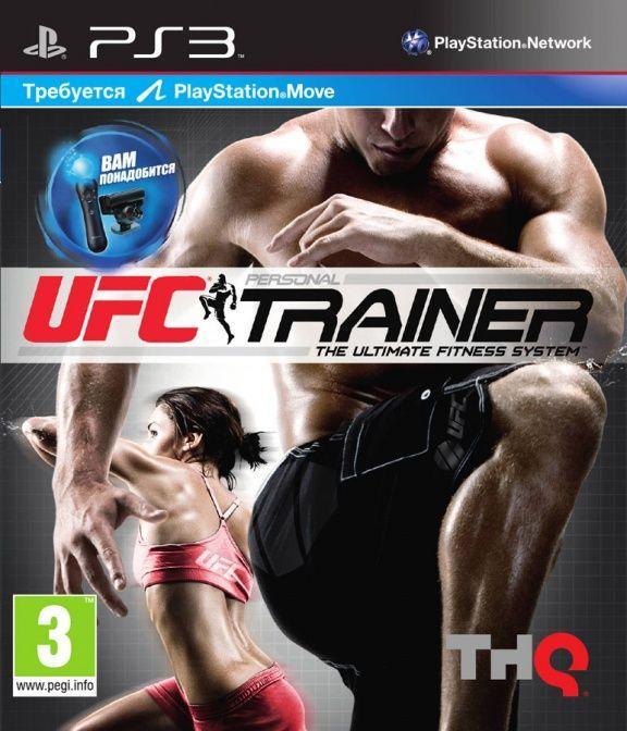 UFC Personal Trainer (англійська версія) PS3 + Ремінь