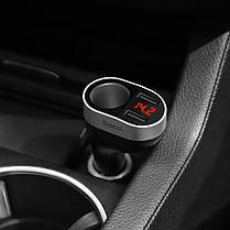 Автомобильное зарядное устройство Hoco Z29 1 разъем/2USB/3.1A Black, фото 2