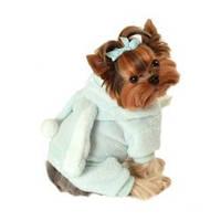 MonkeyDaze КРОЛИК (blue bunny jumper) костюмчик голубой, одежда для собак