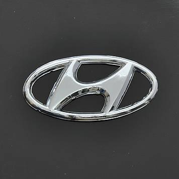 "Эмблема  ""Hyundai"" Sonata/H-100 перед/зад/скотч/средняя (96-2001) 97х49мм"