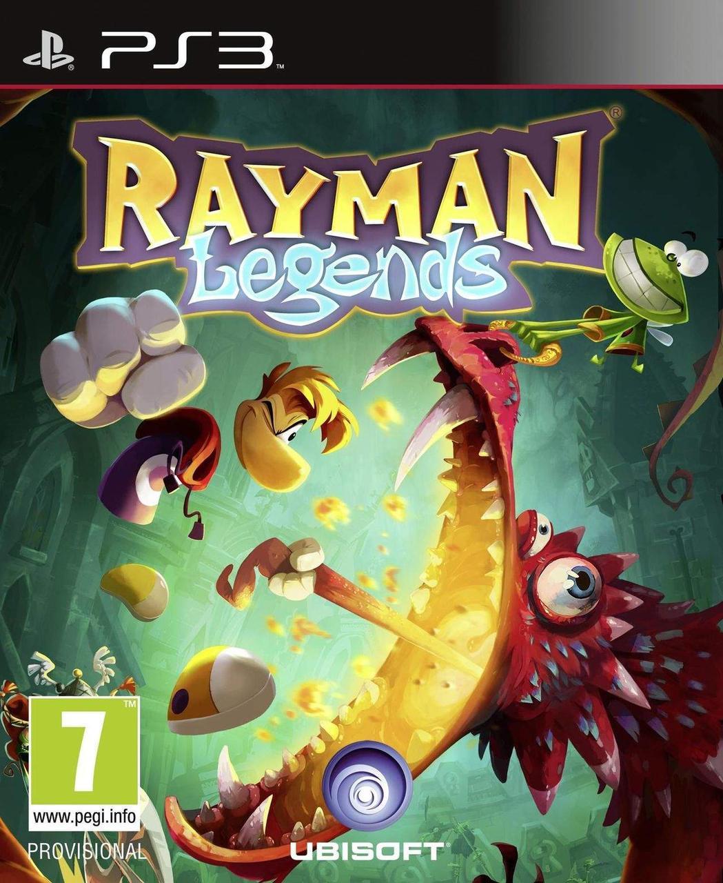 Rayman Legends (русская версия) PS3