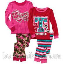 Набір піжам для дівчинки Garanimals, 4Т (96-105см)