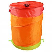 Корзина для игрушек M 2507 (Оранжевая M 2507(Orange) ), корзина для игрушек,палатка детская,корзины для хранения игрушек,палатки детские игровые