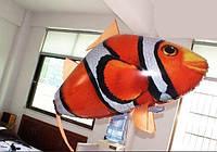 Радиоуправляемая летающая рыба клоун Air Swimmers Clownfish