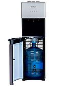 Кулер для воды напольный с нижней загрузкой HotFrost 400AS Metallic Компрессорный
