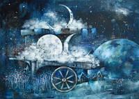 """Листівка """"Місячний ринок"""""""