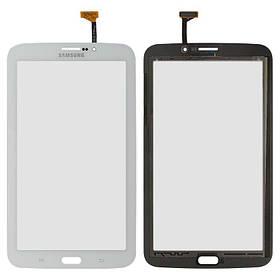 Тачскрін (сенсор) для планшета Samsung T211 Galaxy Tab 3 7.0 версія 3G білий Оригінал