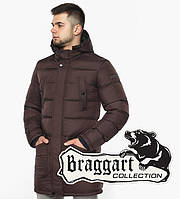 Braggart Dress Code 32045 | Мужская зимняя куртка шоколадного цвета