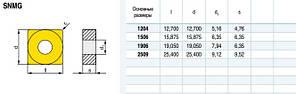 SNMG150608-PA P3035 Твердосплавная пластина для токарного резца, фото 3