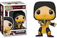 Фигурка Funko POP! Mortal Kombat - Скорпион #537