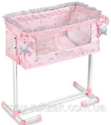 Кровать-манеж для кукол, DECUEVAS, 50х34х50 см, 51234, фото 2