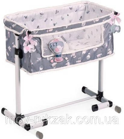 Кровать-манеж для кукол, DECUEVAS, 50х34х50 см, 51235