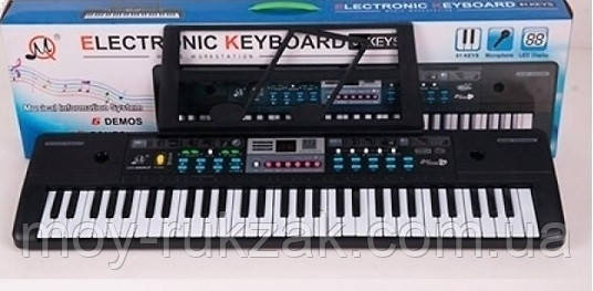 Детский игровой синтезатор, FM, USB-вход, микрофон, 16 тонов, MQ022-23UF