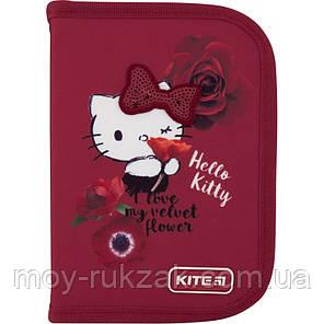 Пенал твердый без наполнения 1 отделение, 1 отворот, Kite Education Hello Kitty, HK20-621-1, фото 2