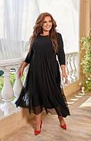 Вечернее платье большого размера 48-74