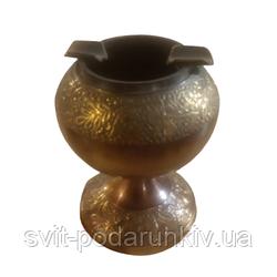 Пепельница металлическая с оригинальными узорами из бронзы 785S
